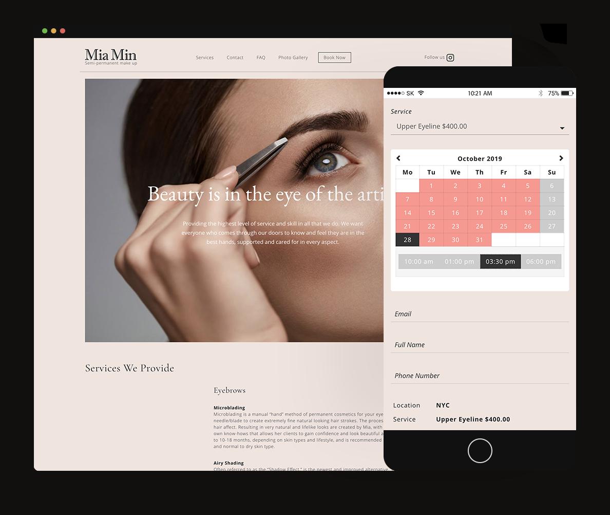 Project: Mia Min Beauty