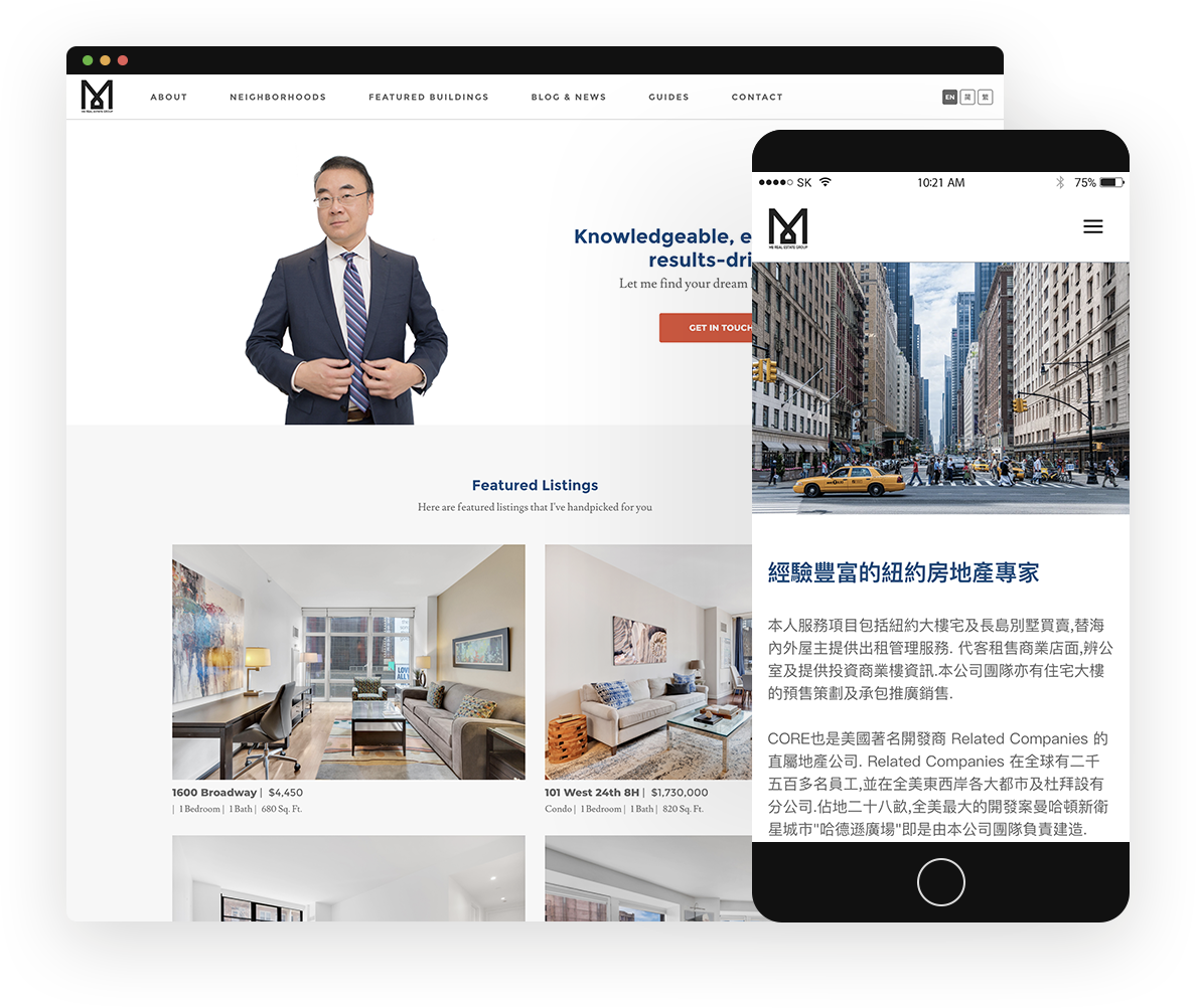 Project: M8 Real Estate Group